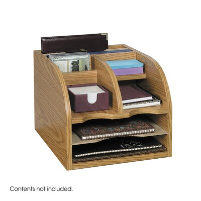 Safco Products Company 3-Way Corner Radius Organizer