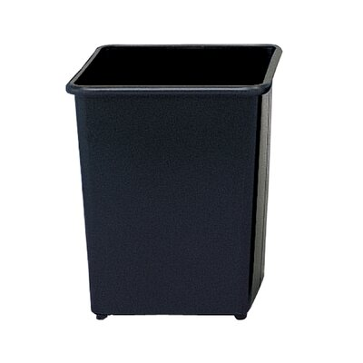 Safco Products Company 31 Quart Square Wastebasket (Set of 3)