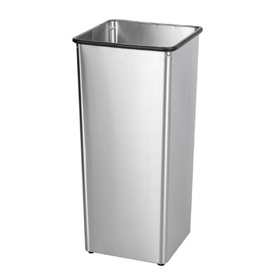 Safco Products Company Twenty One Gallon Stainless Steel Receptacle Base