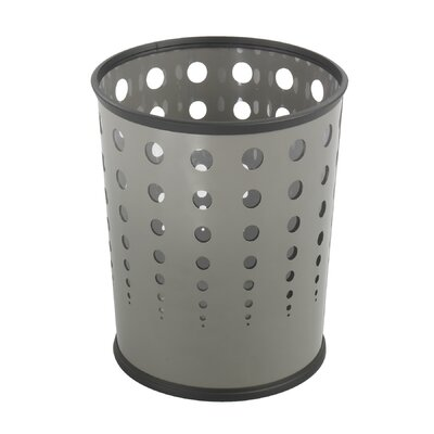Safco Products Company Bubble Wastebasket (Set of 3)