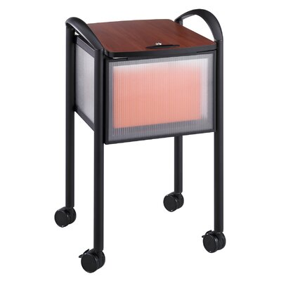 Safco Products Company Locking File Cart