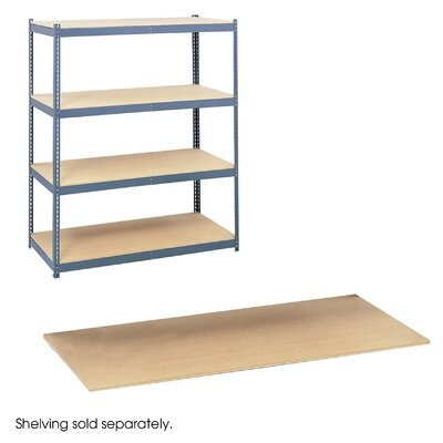 Safco Products Company Particleboard Shelves For Steel Pack Archival Shelving, Box of 4