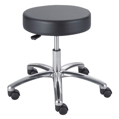 Safco Products Company Height Adjustable Lab Stool with Casters