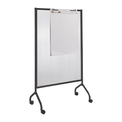 Safco Products Company Impromptu Full Polycarbonate Collaboration Screen 6' x 3.5' Whiteboard
