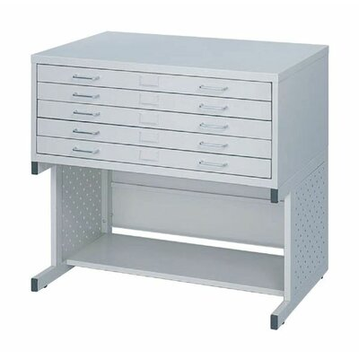 Safco Products Company Facil High Base File Cabinet
