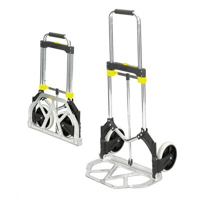 Safco Products Company Stow-Away Medium Hand Truck, 275Lb Capacity