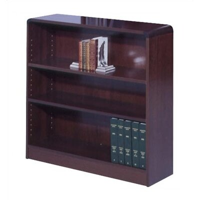 "Safco Products Company 36"" H Radius-Edge Bookcase"