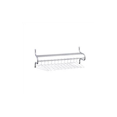 "Safco Products Company 36"" Coat Rack with Shelf"