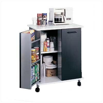 "Safco Products Company 33.125"" Refreshment Kitchen Cart"