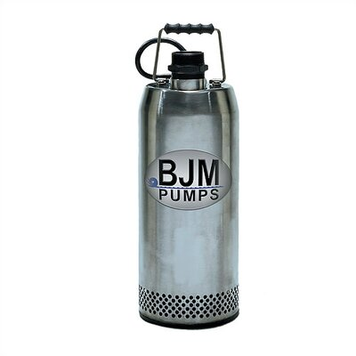 "BJM Pumps 116 GPM 3"" Submersible Dewatering Pump"