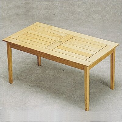 Teak Drachmann Dining Table