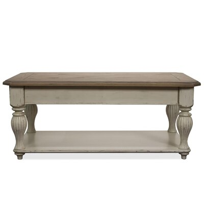 Riverside Furniture Coventry Two Tone Coffee Table with Lift-Top