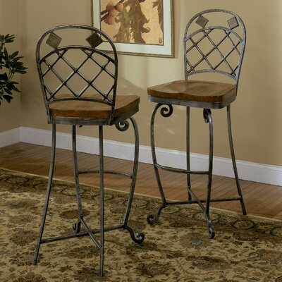 Riverside Furniture Harmony 3 Piece Pub Table and Barstool Set