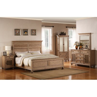 Riverside Furniture Coventry Panel / Shutter Bedroom Collection
