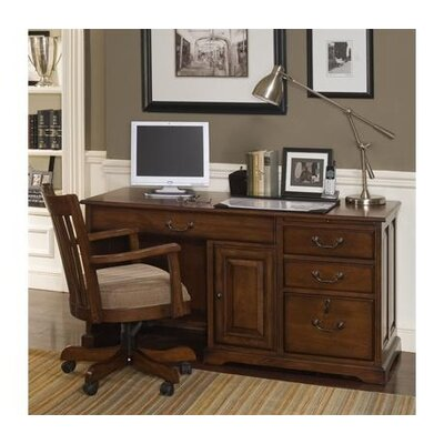 "Riverside Furniture Cantata 58"" Computer Desk with Storage Hutch"