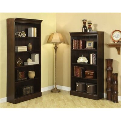Urban Crossings Bookcase in Espresso