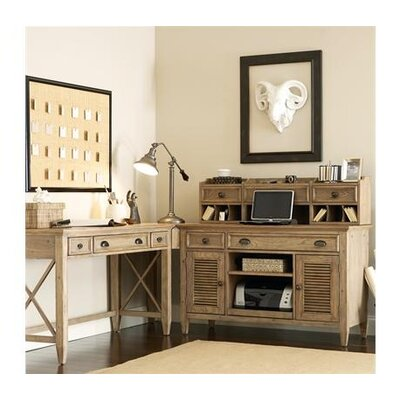 Riverside Furniture Coventry Credenza Desk with Hutch
