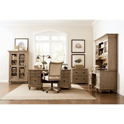 Riverside Furniture Coventry Lateral File Cabinet in Weathered Driftwood