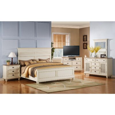 Riverside Furniture Coventry Two Tone 6 Drawer Media Chest