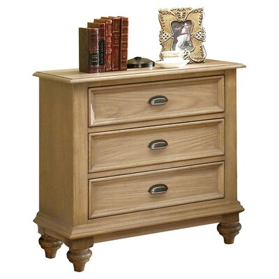 Coventry 3 Drawer Nightstand