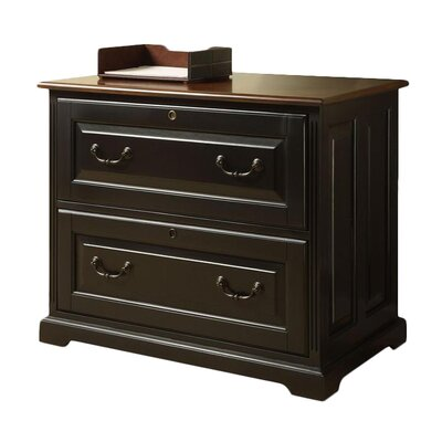 Riverside Furniture Bridgeport Two Drawer Locking Lateral Filing Cabinet