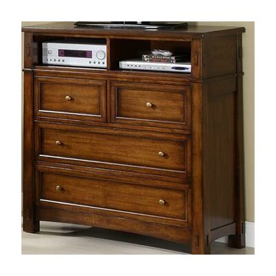 Craftsman Home 4 Drawer Media Chest