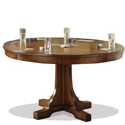 Craftsman Home Convert-A-Height Dining Table