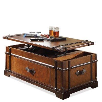 Riverside Furniture Latitudes Steamer Trunk Coffee Table