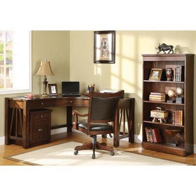 Riverside Furniture Castlewood L-Shape Desk Office Suite