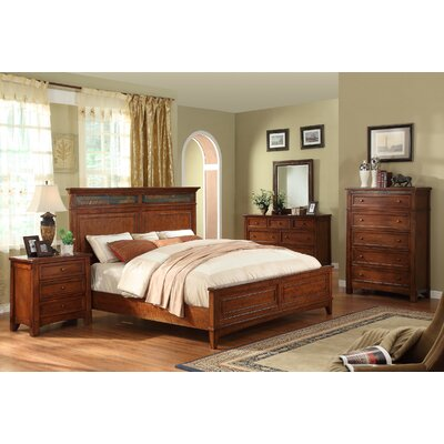 Riverside Furniture Craftsman Home Panel Headboard