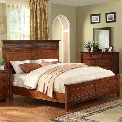 Craftsman Home Panel Bed