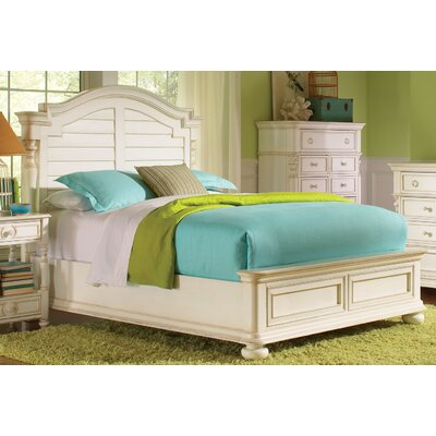Placid Cove Low Panel Bed
