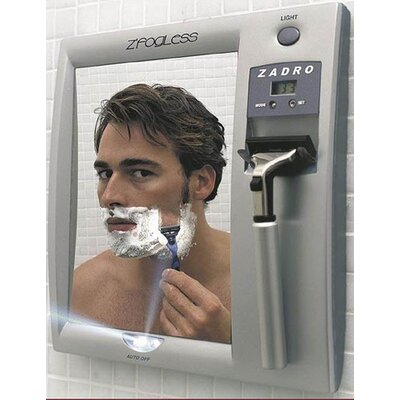 Zadro Z'Fogless Lighted Shaving Mirror