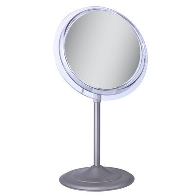 Surround Light Vanity Mirror with 5X Magnification