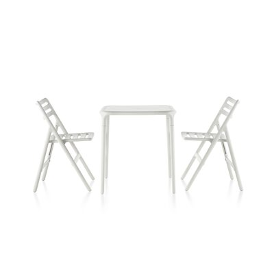 Magis Air-Table 5 Piece Dining Set