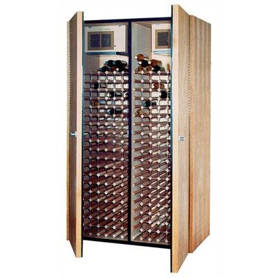 600-2 Oak Red and White Wine Cooler Cabinet