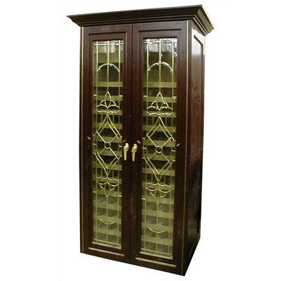 440 Two Door Bonaparte Oak Wine Cooler Cabinet