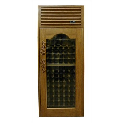 Vinotemp 250 Furniture Trim Oak Wine Cooler Cabinet with Front Exhaust