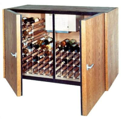 Vinotemp 2 Door Oak Wine Cooler Credenza