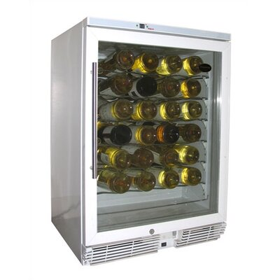 58 Bottle Single Zone Wine Refrigerator