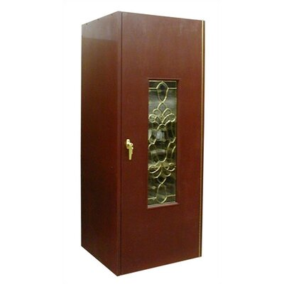 200 Single Beveled Glass Door Wine Cooler Cabinet