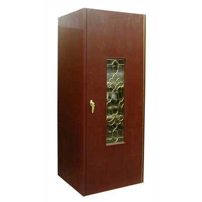 300 Single Beveled Glass Door Wine Cooler Cabinet