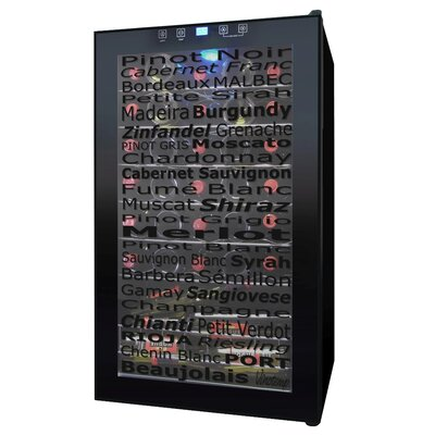 Vinotemp 34 Bottle Wine Cellar with Varietal Indicator