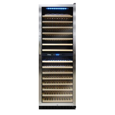 Vinotemp 155 Bottle Dual Zone Wine Refrigerator