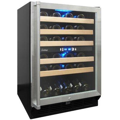 Vinotemp 45 Bottle Dual Zone Wine Refrigerator