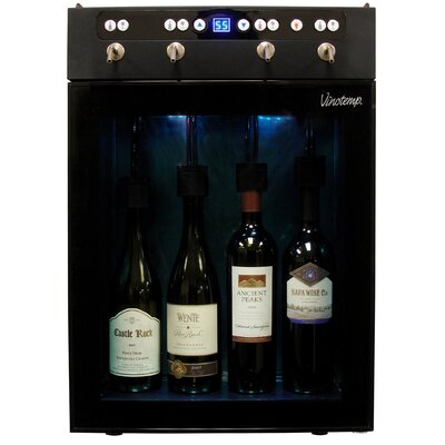 4 Bottle Single Zone Wine Dispenser