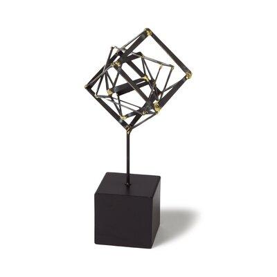 DwellStudio Tilted Cube Sculpture