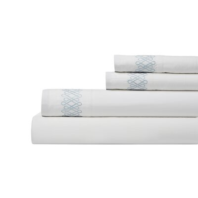 DwellStudio Filigree Mist Sheet Set