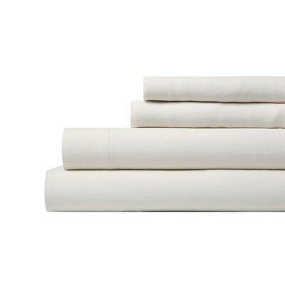 DwellStudio Linen Pearl Sheet Set