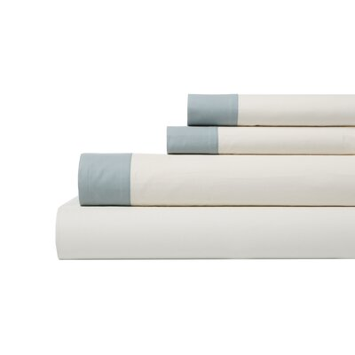DwellStudio Modern Border Mist Sheet Set
